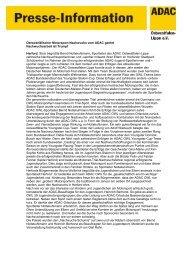 Pressebericht ADAC-Jugend-Motorsport-Ehrungen 2012 in ...