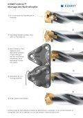KOMET KUB K2 - Wechselkopfbohrer für kleinste Durchmesser - Seite 5