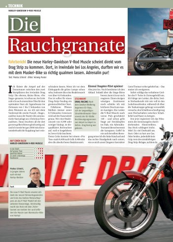 harley-davidson v-rod muscle - Moto Sport Schweiz