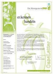 Ausgabe 8 - März/April 2011 - Management Oase