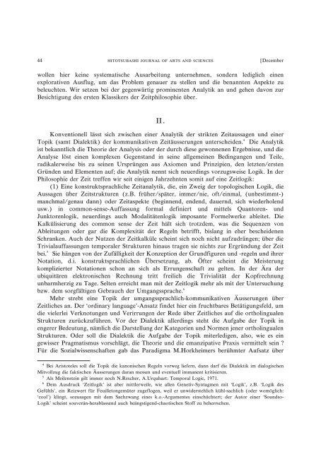 Title Beitrag zur Sozialphilosophie der Zeit Author(s ... - HERMES-IR