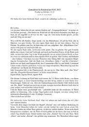 Hebräer 13,14 (Jahreslosung)