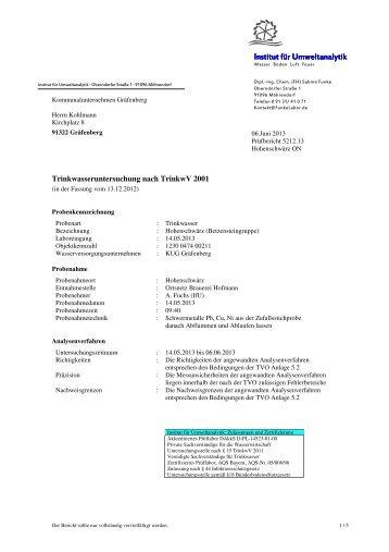 Versorgungsgebiet 4 - 2013 - Gräfenberg