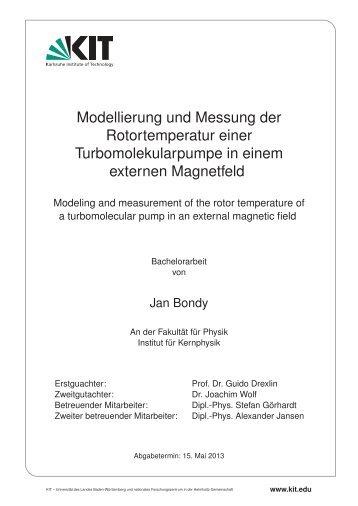 iekp-bachelor-ka/2013-16 - Institut für Experimentelle Kernphysik