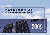 DOCUMENTATION PATRIMONIAL - Fiscus.fgov.be