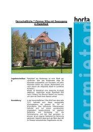 Herrschaftliche 7 Zimmer Whg mit Seezugang in Radolfzell - Horta