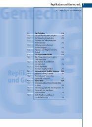 7 Replikation und Gentechnik - Biochemie - Nachhilfe