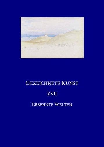 GEZEICHNETE KUNST XVII - HW Fichter Kunsthandel