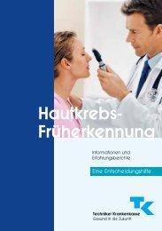 Hautkrebs-Früherkennung - Techniker Krankenkasse