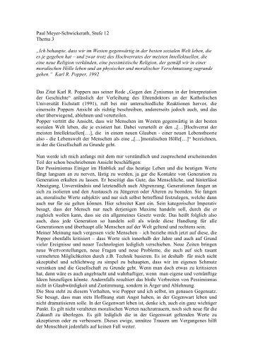 "Paul Meyer-Schwickerath, Stufe 12 Thema 3 ""Ich ... - Goetheschule"