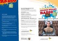 Flyer downloaden - Jugendradio NRW