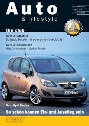 Auto Lifestyle - ACS Automobil-Club der Schweiz