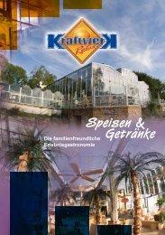 Speisen & Getränke - Nightlife Pro Admin