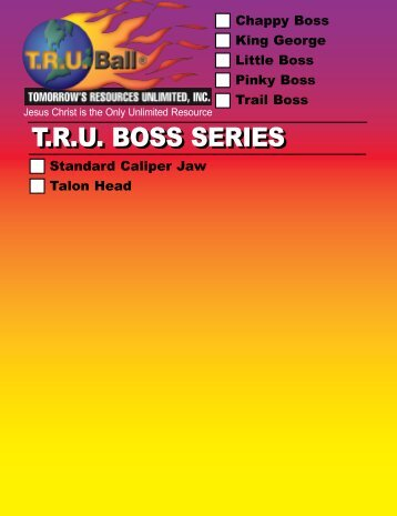 tru boss series tru boss series - TRU Ball Release