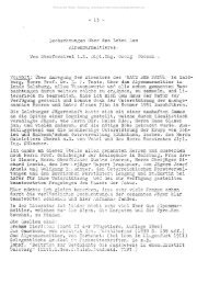 - 13 - Beobachtungen über das Leben des Alpenmurmeltieres. Von ...