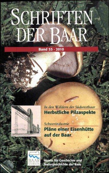 Download Band 53 - Baarverein.de