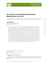 PoS(CD12)023 - Proceedings of Science - sissa