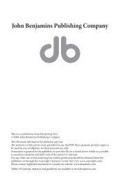 Constructing interpreting quality - John Benjamins