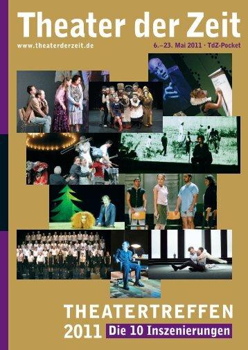 Gratis PDF-Download TdZ-Pocket Theatertreffen 2011