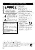 Compact Disc Player Lecteur Compact Disc - Yamaha - Page 2