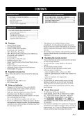 Compact Disc Player Lecteur Compact Disc - Yamaha - Page 5