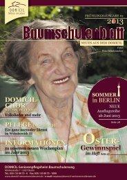 2013 OSTER- - DOMICIL Seniorenresidenzen