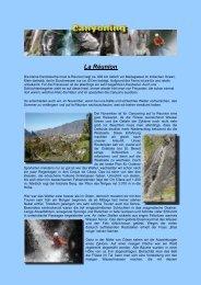 La Réunion - Canyoning Tirol
