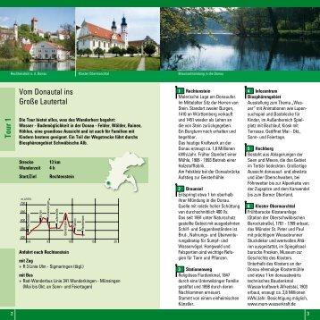 Tour 1 - Alb-Donau-Kreis Tourismus