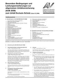 Unfallversicherung Exclusiv.qxd