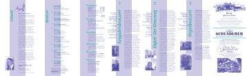 Jahresprogramm 2013 - Bezirkskantorat Münstertal