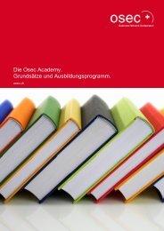Grundsätze und Ausbildungsprogramm - Switzerland Global ...