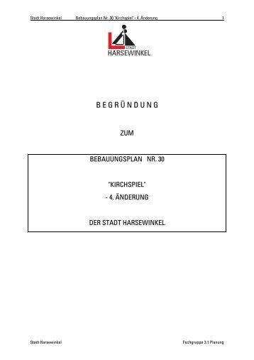 Begründung zur 3 - O-sp.de
