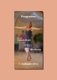 Programm - Biodanza Hannover