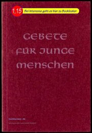 Burckhardthaus Gebete für junge Menschen