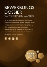Download PDF - Swiss Kitchen Award