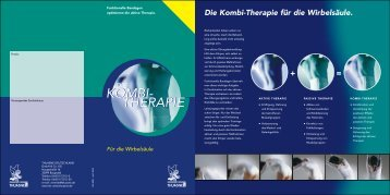 Kombi-Therapie Lendenwirbelsäule