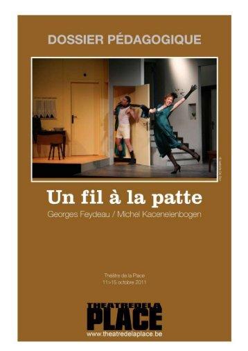 Cahier pédagogique - Le Théâtre de la place