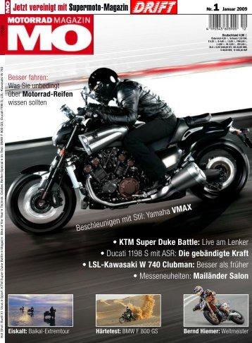 Jetzt vereinigt mit Supermoto-Magazin - Ducati