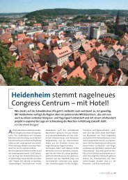 Heidenheim stemmt nagelneues Congress Centrum - Convention ...