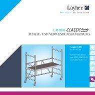AuV Layher Classic Ready - Gebr. Sonntag GmbH & Co.KG