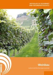 Weinbau - SVLFG