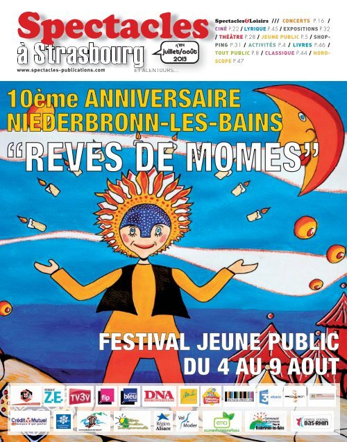 Strasbourg N164 Spectacles Publications