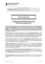 Pressemitteilung vom 14.07.2006 - BCF