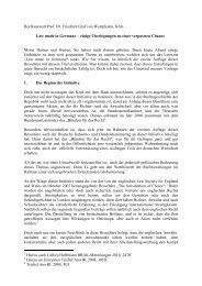 zum Redekonzept... - Juristische Gesellschaft Ruhr eV