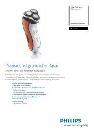 Leaflet HQ7350_17 Released Germany (German) High-res ... - Philips