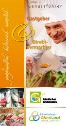 Gastgeber Direkt- vermarkter - Schweinfurter OberLand