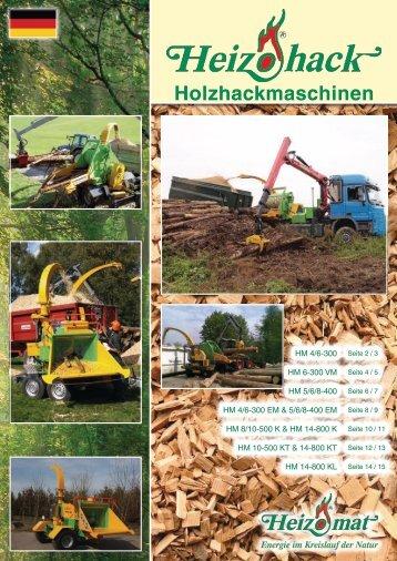 Holzhackmaschinen - EOS Neue Energien GmbH