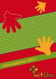 Jahresplaner 2013 - mit Uns Gemeinde
