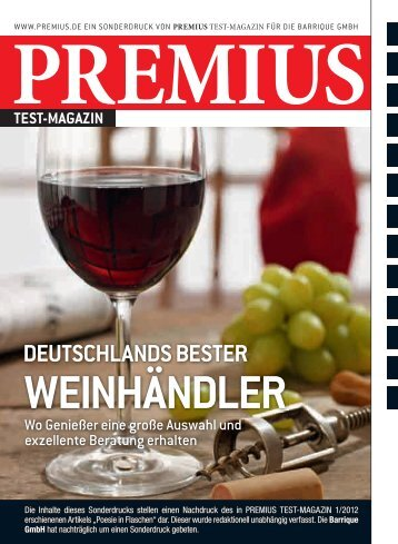 deutschlands bester weinhändler - Franchisepartner.de