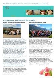 News Women's Ministries Intereuropäische Division (EUD)